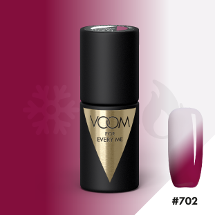 VOOM Soak Off Gel Polish #702 - Follow The Pink Rabbit (.17 fl. oz. | 5 ml)