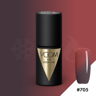 VOOM Soak Off Gel Polish #705 - Marshmallow & Chocolate (.17 fl. oz. | 5 ml)