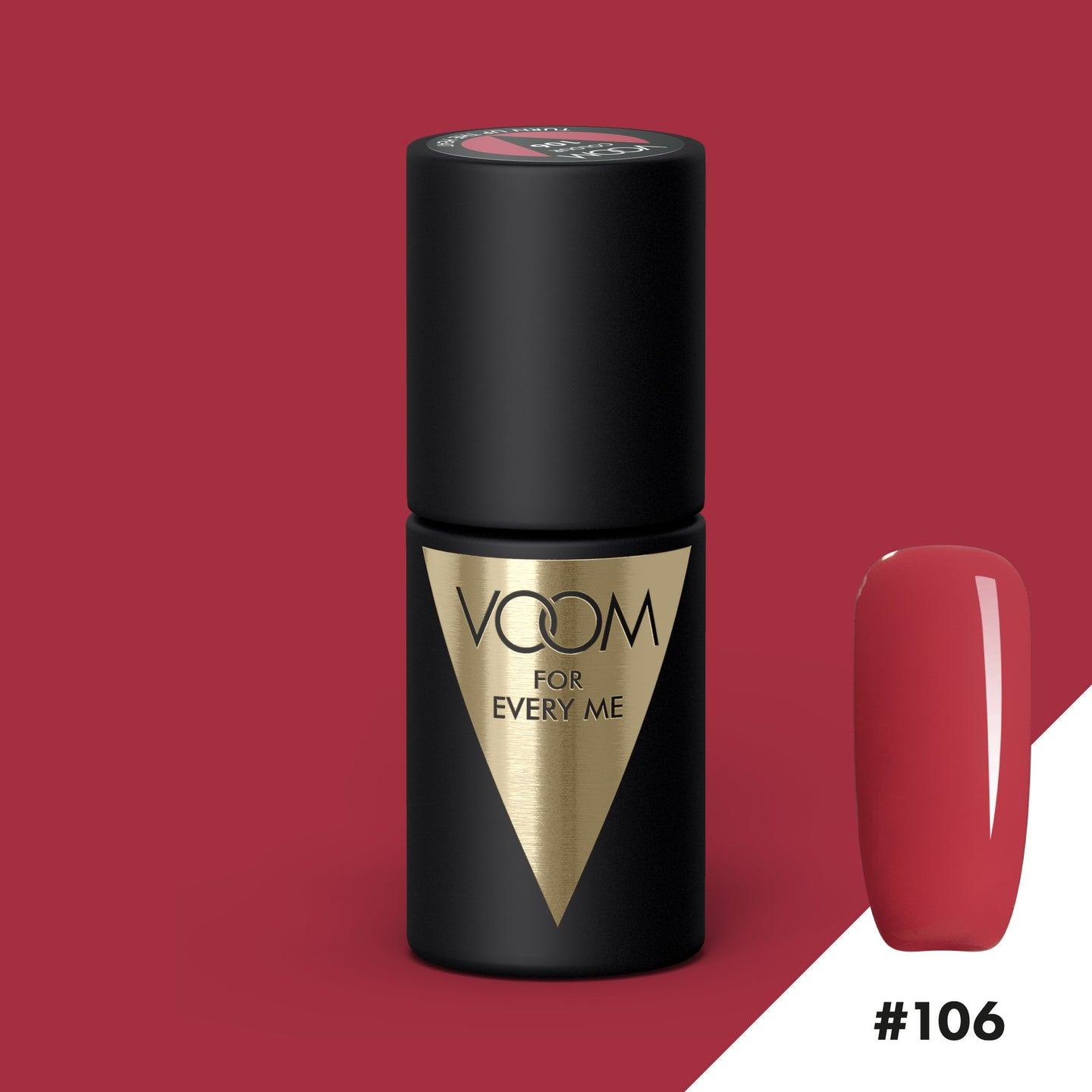 VOOM Soak Off Gel Polish #106 - Turn Up The Heat (.17 fl. oz. | 5 ml)