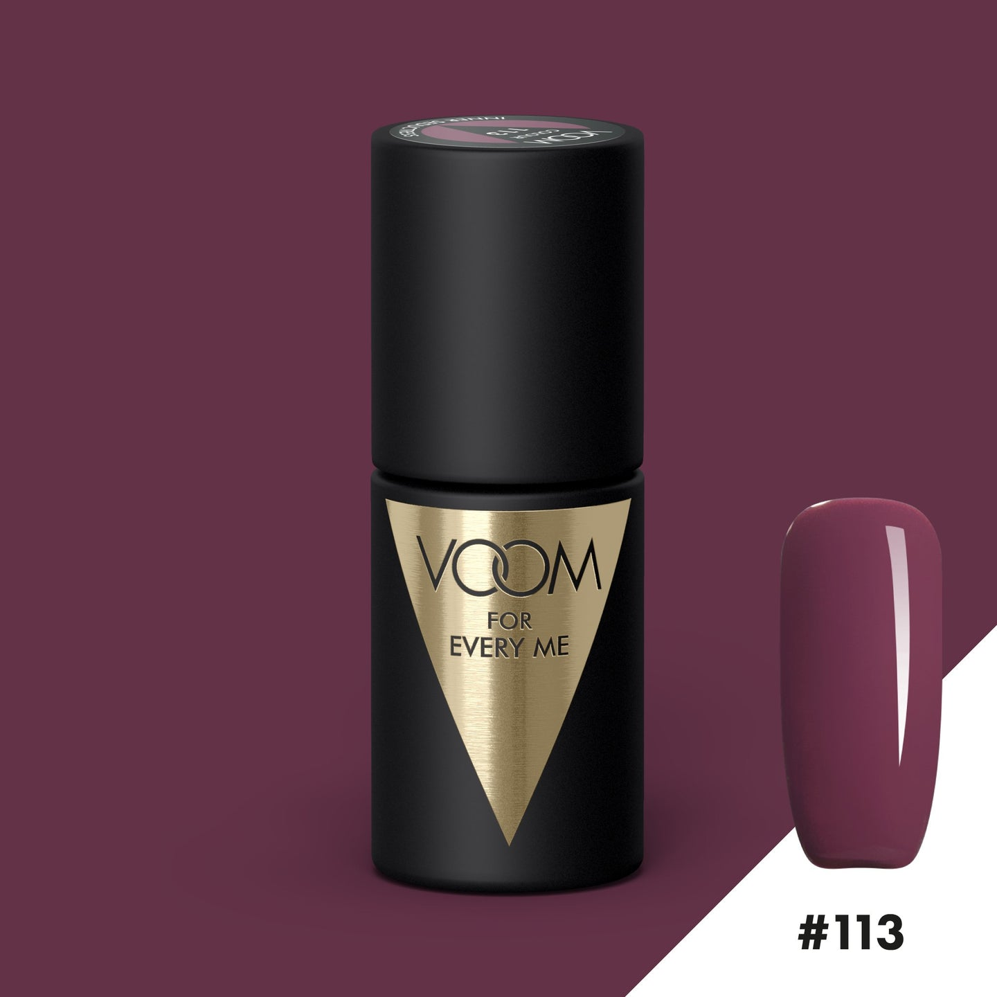 VOOM Soak Off Gel Polish #113 - Inner Seductress (.17 fl. oz. | 5 ml)