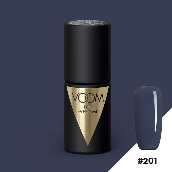 VOOM Soak Off Gel Polish #201 - It's Blue And There's Nothing I Can Do (.17 fl. oz. | 5 ml)