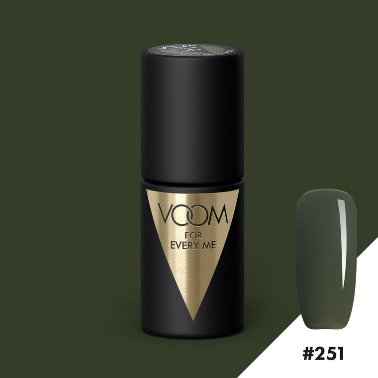 VOOM Soak Off Gel Polish #251 - Holy Guacamoly (.17 fl. oz. | 5 ml)