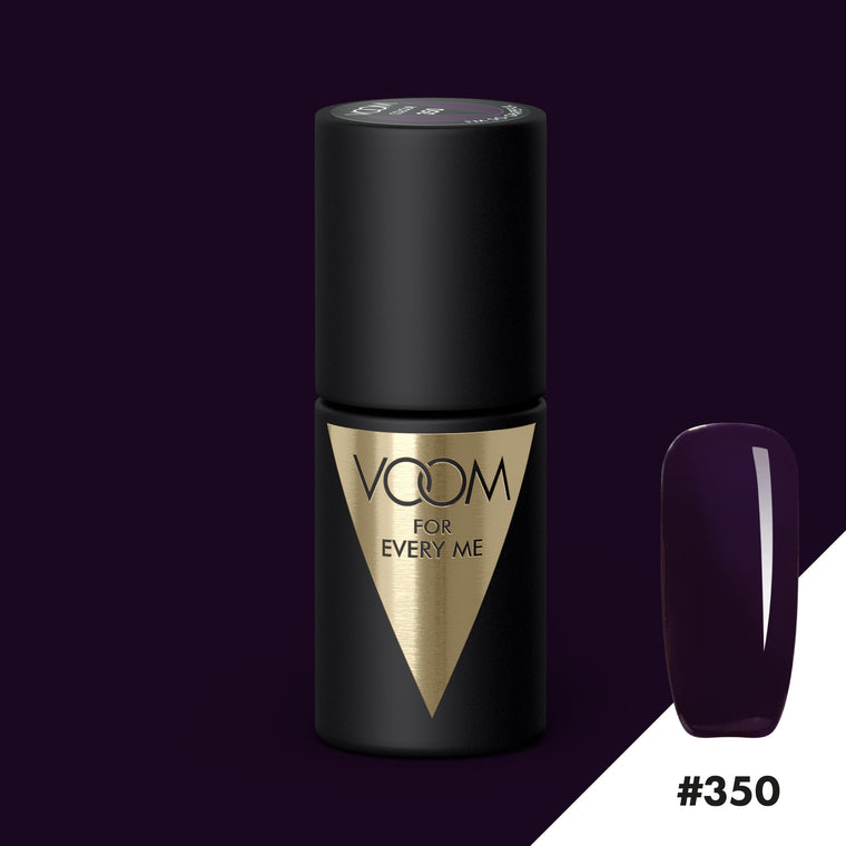 VOOM Soak Off Gel Polish #350 - I'm So Grapeful (.17 fl. oz. | 5 ml)