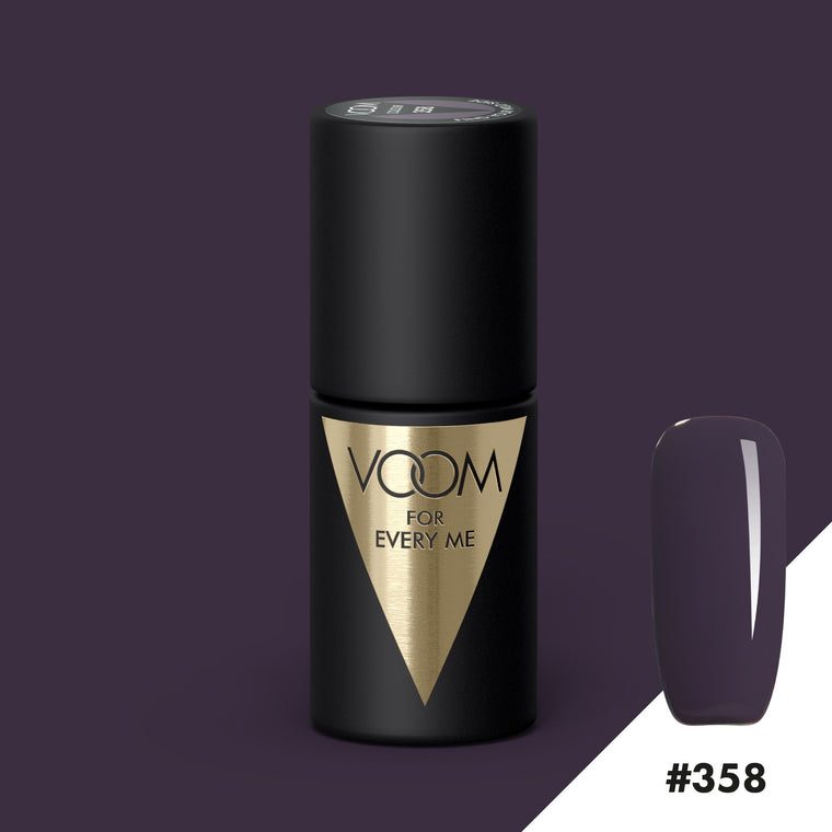 VOOM Soak Off Gel Polish #358 - Find Your Wild Side (.17 fl. oz. | 5 ml)