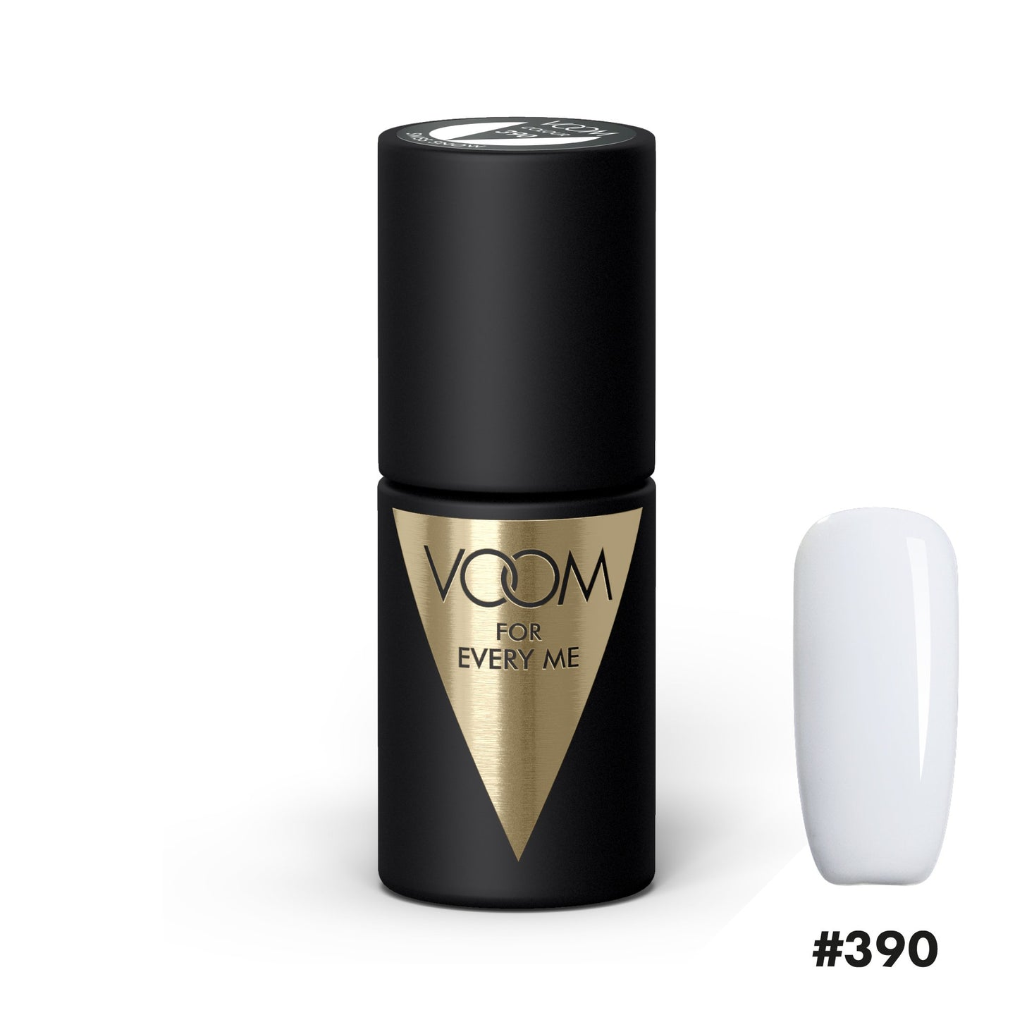 VOOM Soak Off Gel Polish #390 - Swiss Snow (.17 fl. oz. | 5 ml)