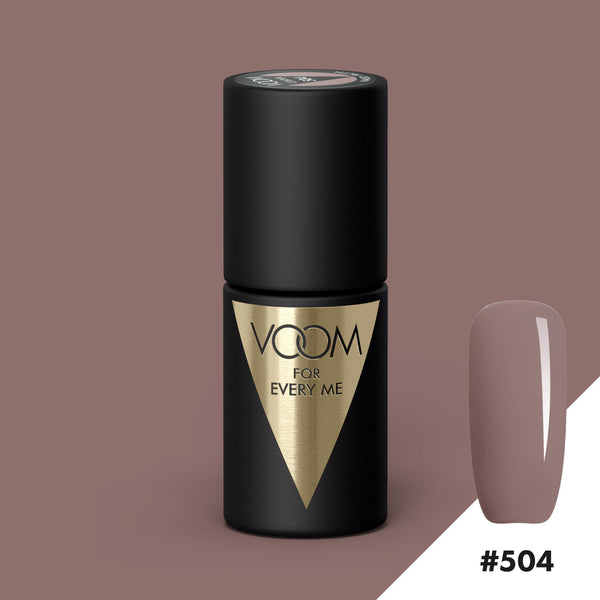 VOOM Soak Off Gel Polish #504 - Naked Truth (.17 fl. oz. | 5 ml)