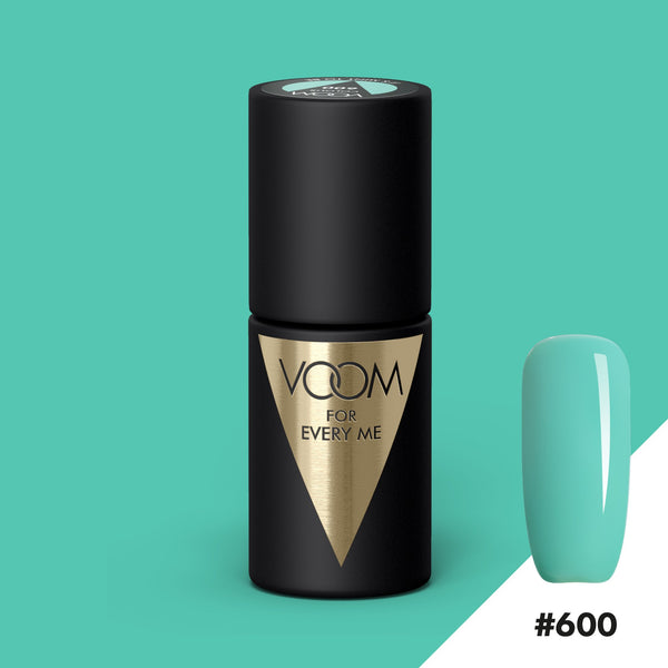 VOOM Soak Off Gel Polish #600 - It's Mint To Be (.17 fl. oz. | 5 ml)