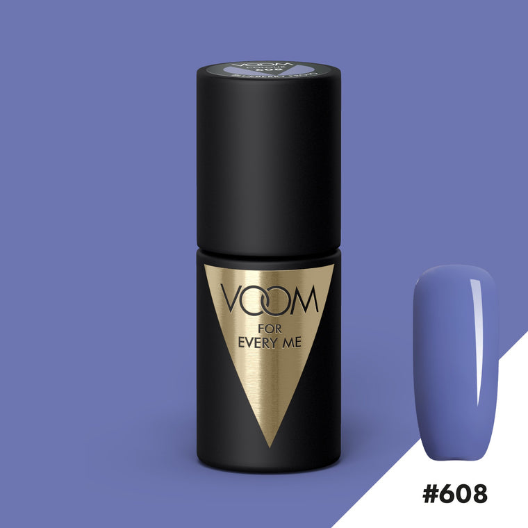 VOOM Soak Off Gel Polish #608 - Blueberry Froyo (.17 fl. oz. | 5 ml)