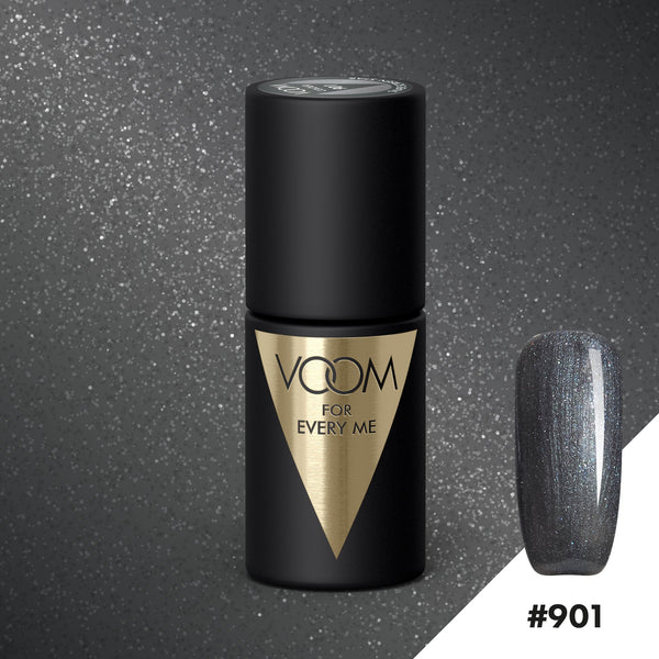 VOOM Soak Off Gel Polish #901 - Silver Screen Star (.17 fl. oz. | 5 ml)