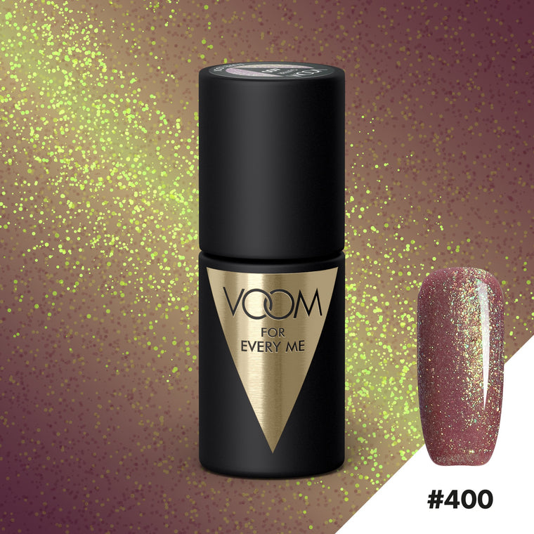 VOOM Soak Off Gel Polish #400 - Luxe Look (.17 fl. oz. | 5 ml)
