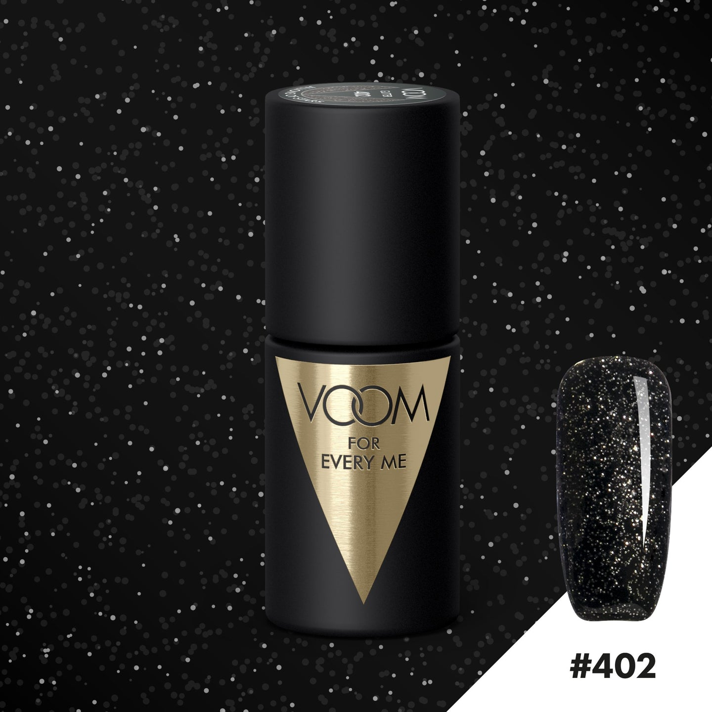 VOOM Soak Off Gel Polish #402 - Jillions Of Stars (.17 fl. oz. | 5 ml)