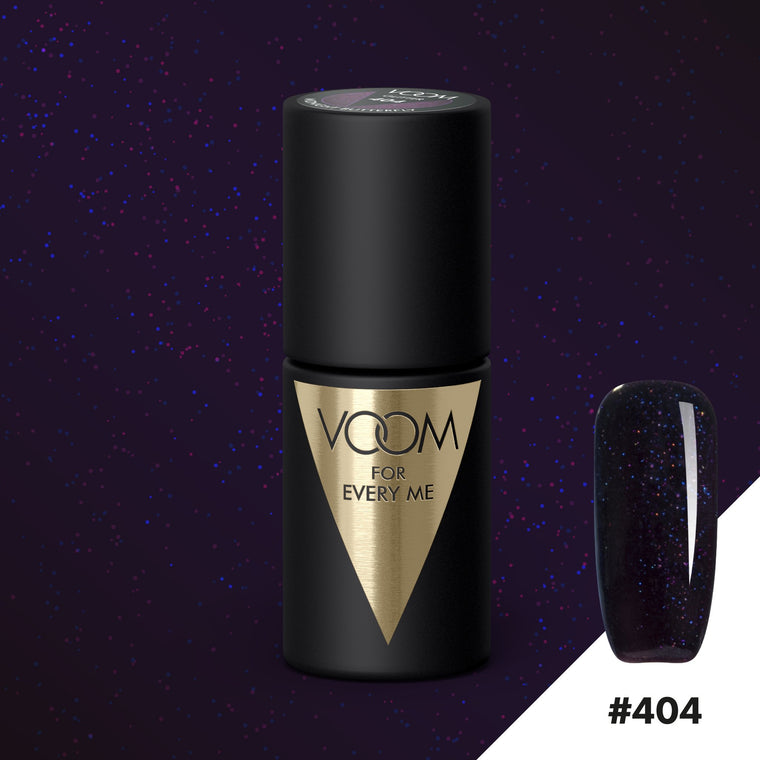 VOOM Soak Off Gel Polish #404 - Midnight Butterfly (.17 fl. oz. | 5 ml)