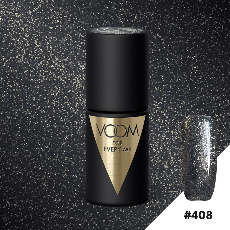 VOOM Soak Off Gel Polish #408 - Mysterious Nordic (.17 fl. oz. | 5 ml)