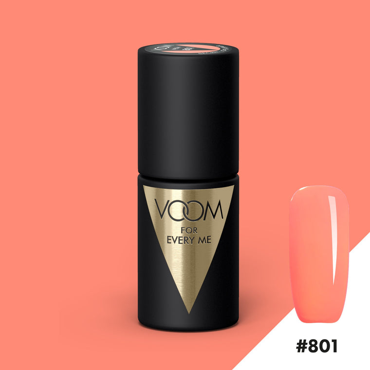VOOM Soak Off Gel Polish #801 - Secret Love Affair (.17 fl. oz. | 5 ml)