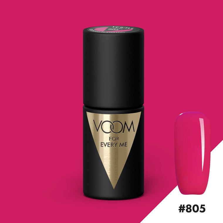 VOOM Soak Off Gel Polish #805 - Flocking Flamingo (.17 fl. oz. | 5 ml)