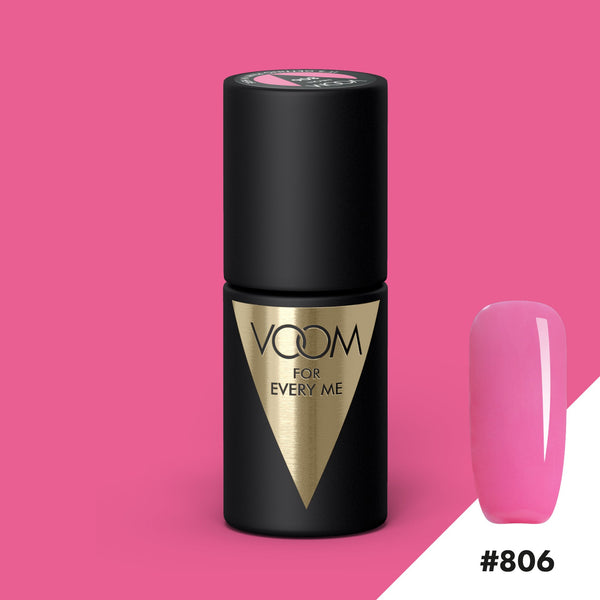 VOOM Soak Off Gel Polish #806 - It's Getting Pink In Here (.17 fl. oz. | 5 ml)