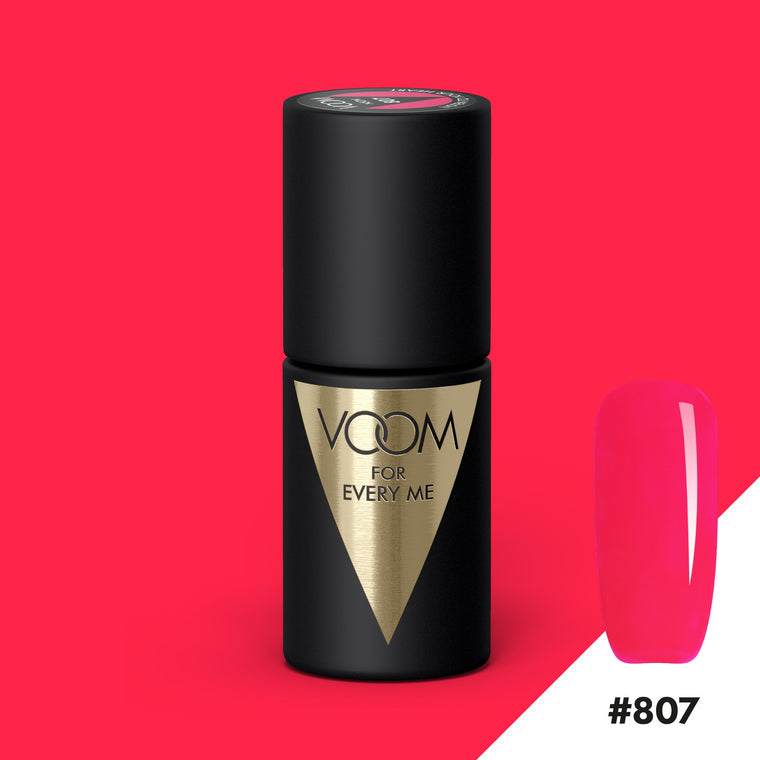 VOOM Soak Off Gel Polish #807 - Listen To Your Heart (.17 fl. oz. | 5 ml)