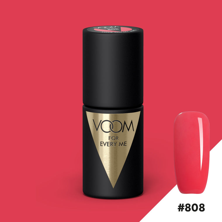 VOOM Soak Off Gel Polish #808 - Love On My Mind (.17 fl. oz. | 5 ml)