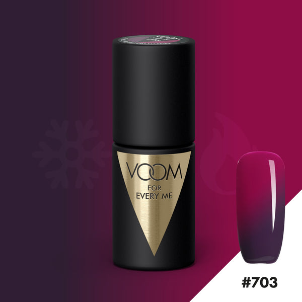 VOOM Soak Off Gel Polish #703 - It Will Make You Happier (.17 fl. oz. | 5 ml)