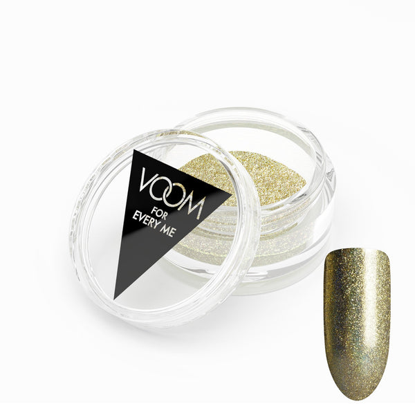 VOOM Glitter Powder - Holo Dust - Gold