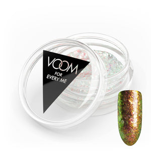 VOOM Glitter Powder - Opal Flakes - Gold