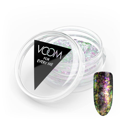 VOOM Glitter Powder - Opal Flakes - Green