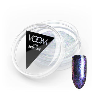 VOOM Glitter Powder - Opal Flakes - Purple