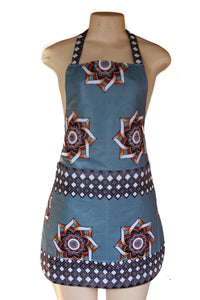 Geometric Flower Apron