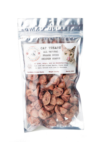 **RAW Freeze Dried Chicken Hearts
