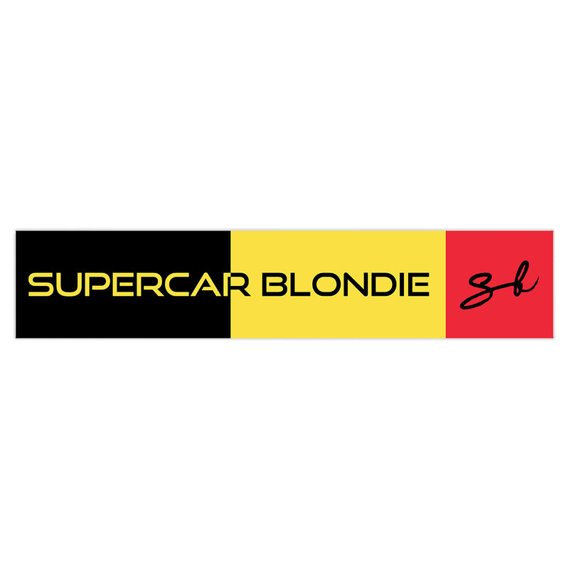 Belgium SB World Edition Sticker