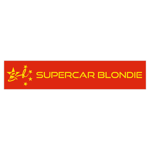 China SB World Edition Sticker