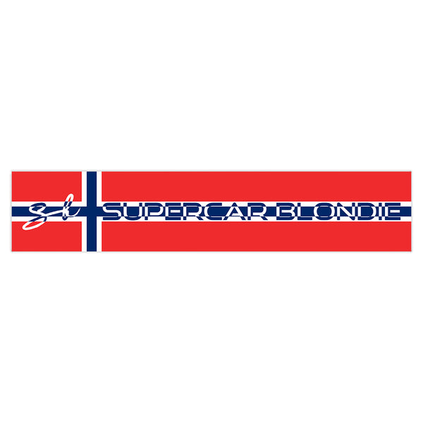 Norway SB World Edition Sticker