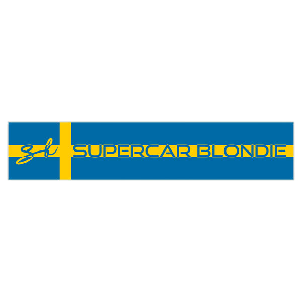 Sweden SB World Edition Sticker