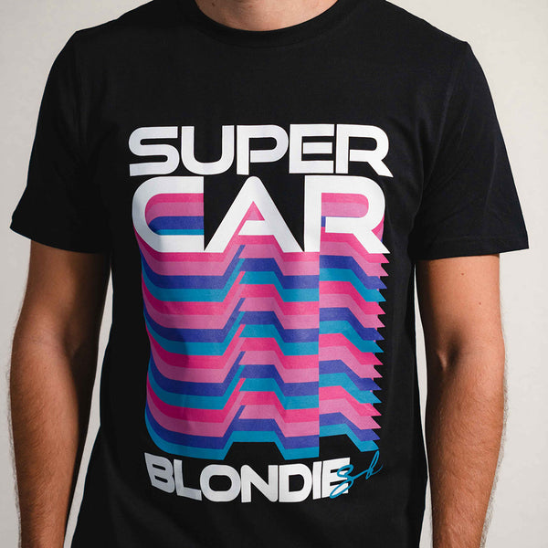Retro Blondie T-Shirt in Black