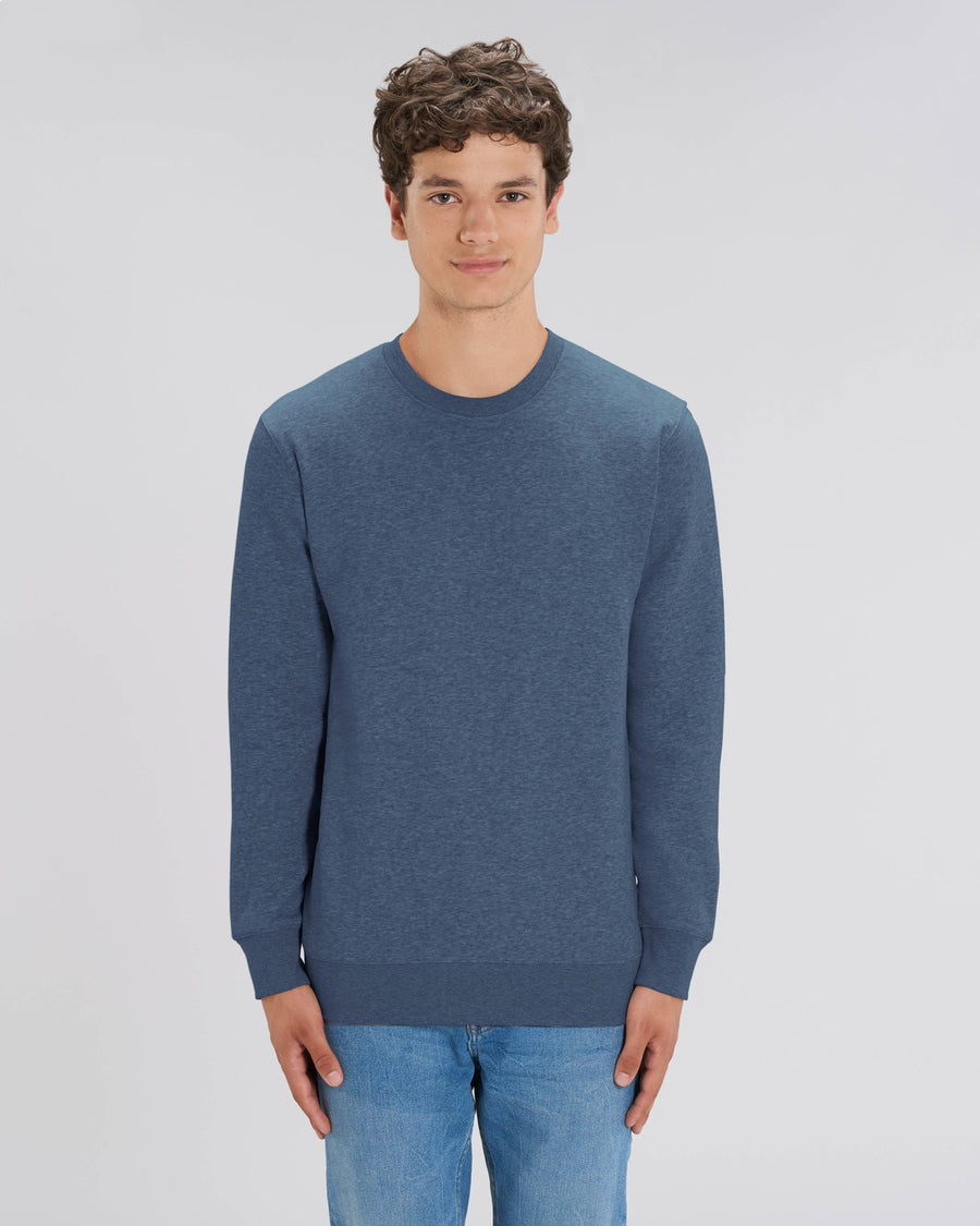 Stanley Stella Changer Sweater Dark Heather Blue