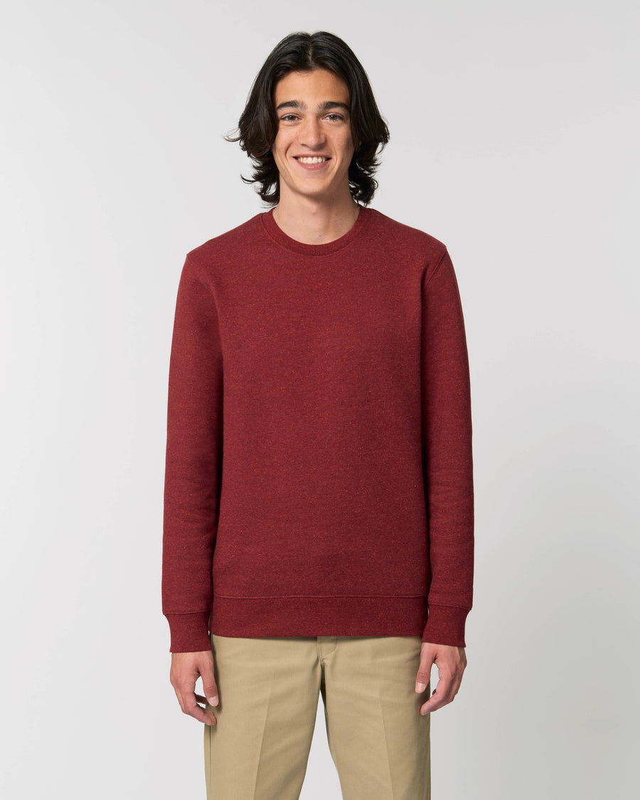 Stanley Stella Changer Sweater Heather Neppy Burgundy
