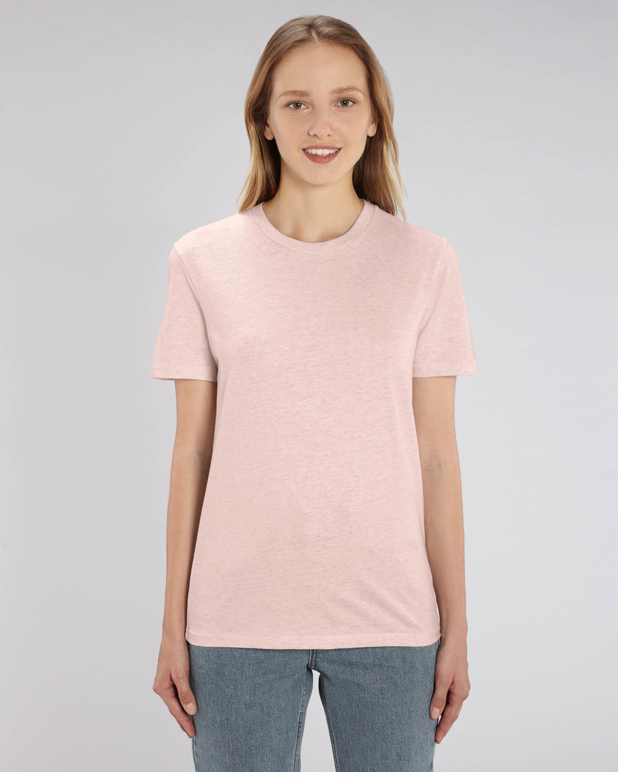 Stanley Stella Creator Unisex T-Shirt Cream Heather Pink