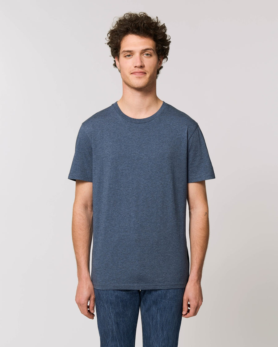 Stanley Stella Creator Unisex T-Shirt Dark Heather Blue