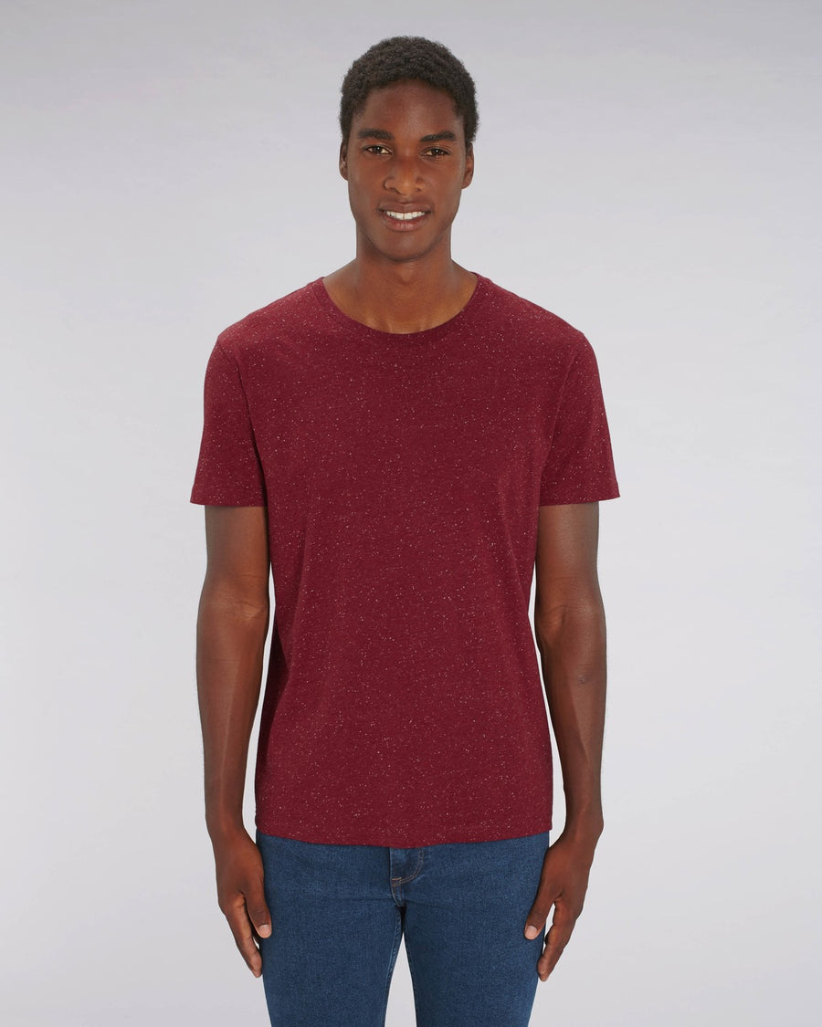 Stanley Stella Creator Unisex T-Shirt Dark Heather Burgundy