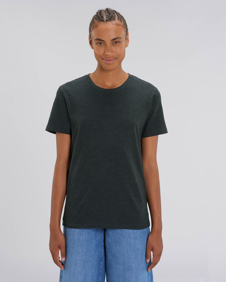 Stanley Stella Creator Unisex T-Shirt Heather Black Denim