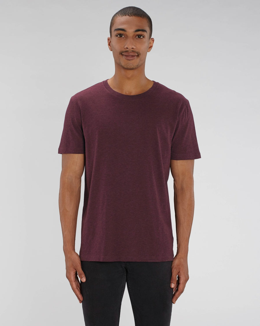 Stanley Stella Creator Unisex T-Shirt Heather Grape Red
