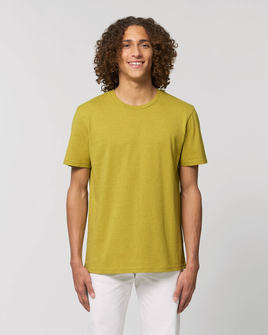Stanley Stella Creator Unisex T-Shirt Heather Neppy Lemon Grass