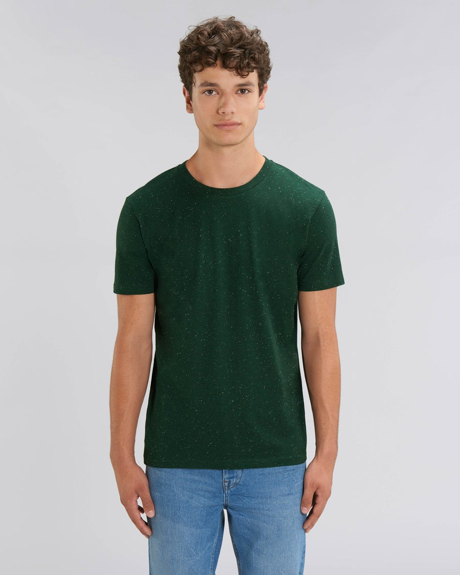 Stanley Stella Creator Unisex T-Shirt Heather Scarab Green