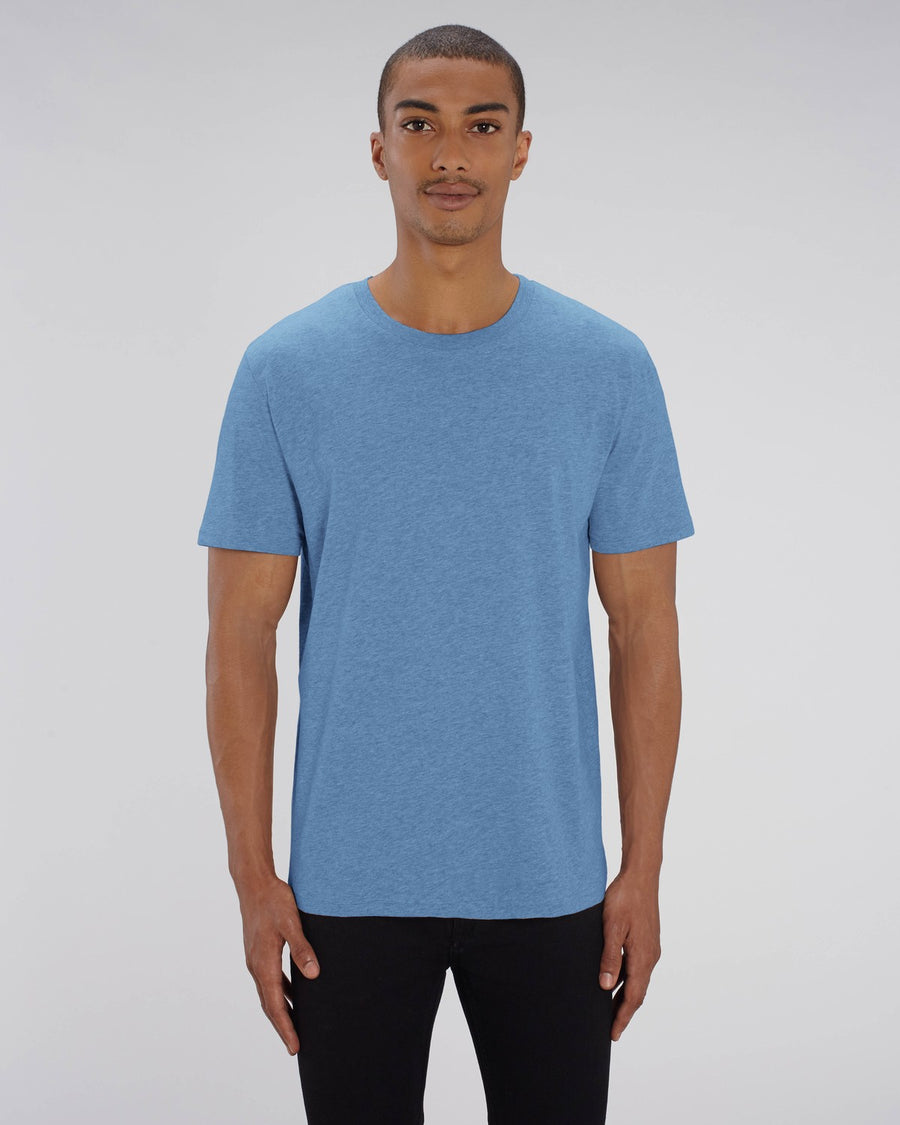 Stanley Stella Creator Unisex T-Shirt Mid Heather Blue