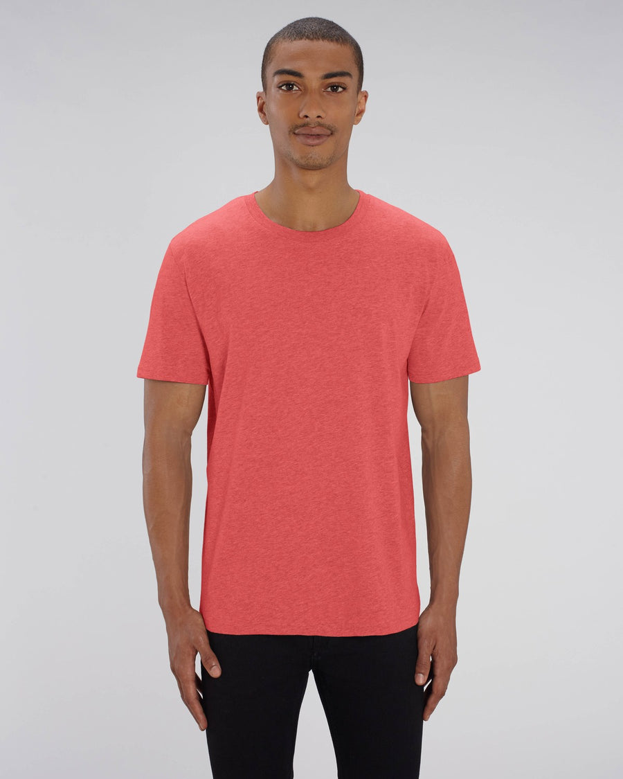 Stanley Stella Creator Unisex T-Shirt Mid Heather Red