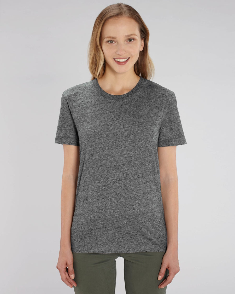 Stanley Stella Creator Unisex T-Shirt Slub Heather Steel Grey