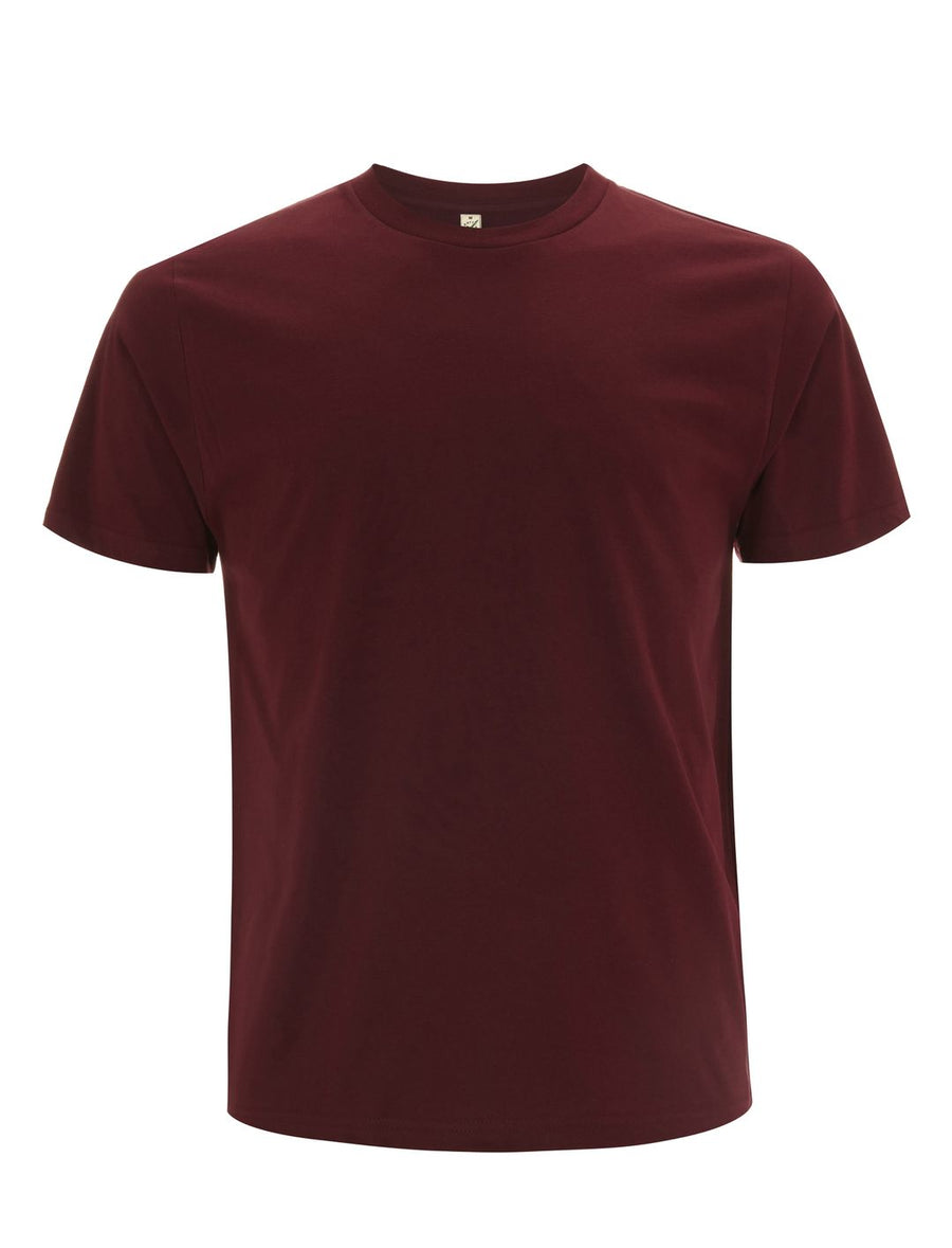 Continental Clothing EP01Men's Unisex T-Shirt Burgundy