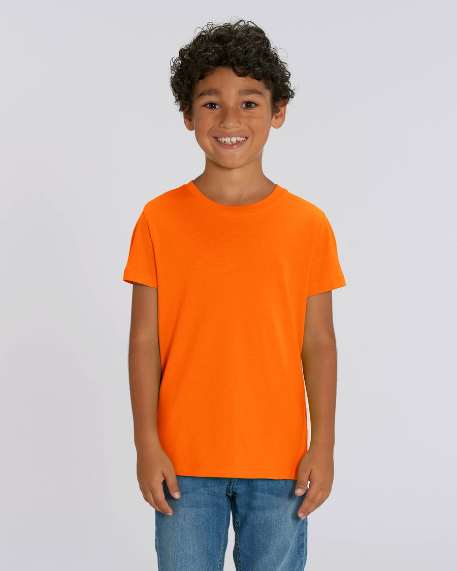 Stanley Stella Mini Creator Kid's T-Shirt Bright Orange