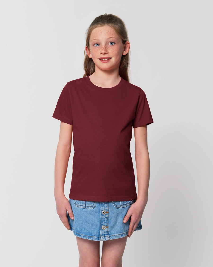Stanley Stella Mini Creator Kid's T-Shirt Burgundy