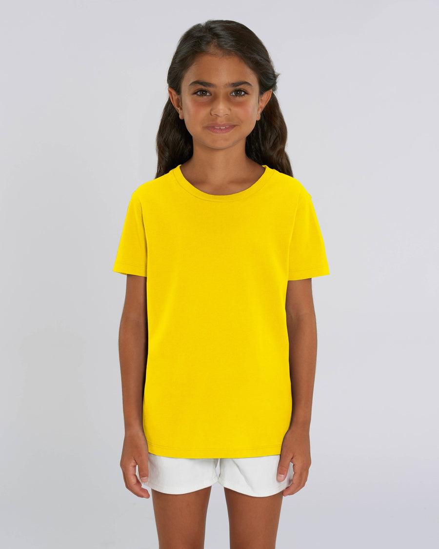 Stanley Stella Mini Creator Kid's T-Shirt Golden Yellow